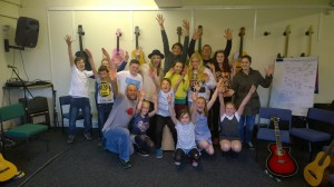 Paul and the kids from BCT Aspire CIC